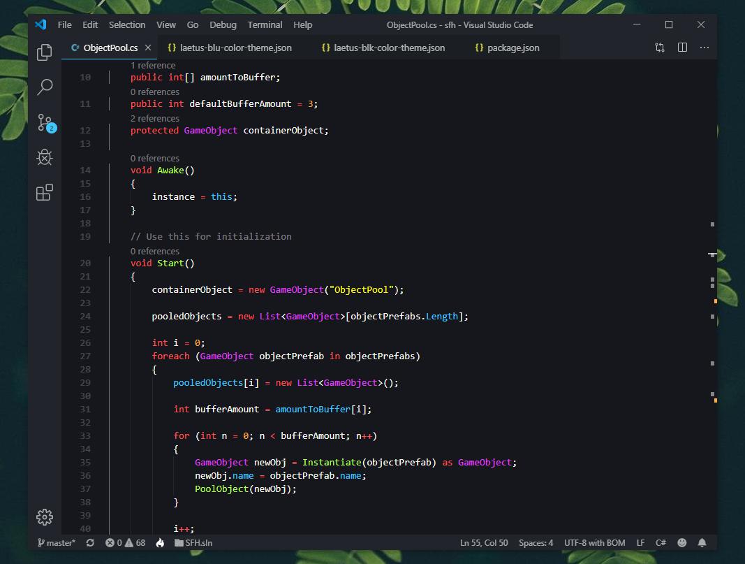 Monokai Vibrant JavaScript Example