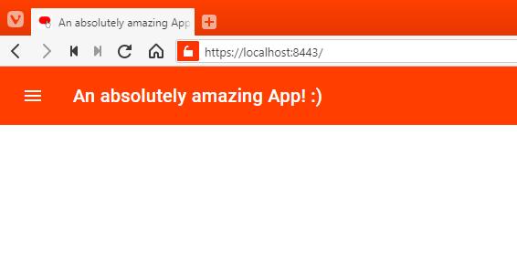 Sample App Code