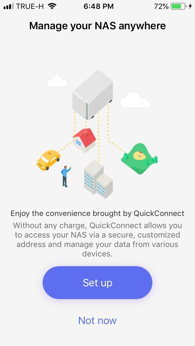 Setup Quickconnect