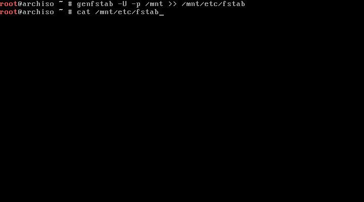 Install Arch