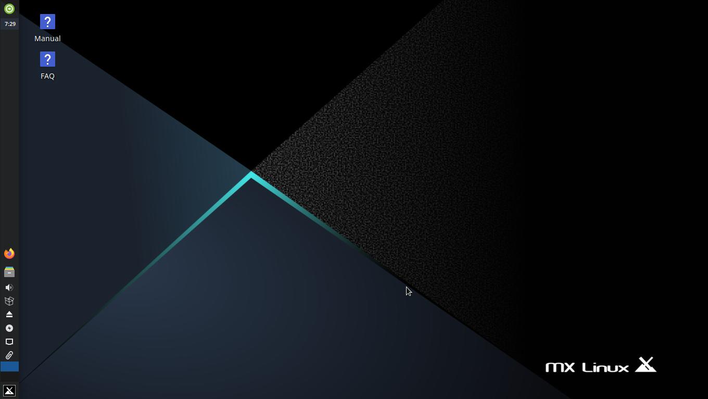 MX Linux Desktop
