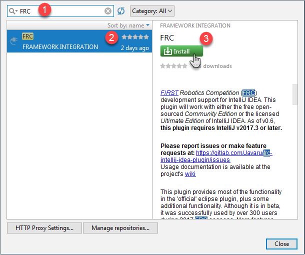 3 FRC Plugin Installation · Wiki · Javaru / FRC IntelliJ