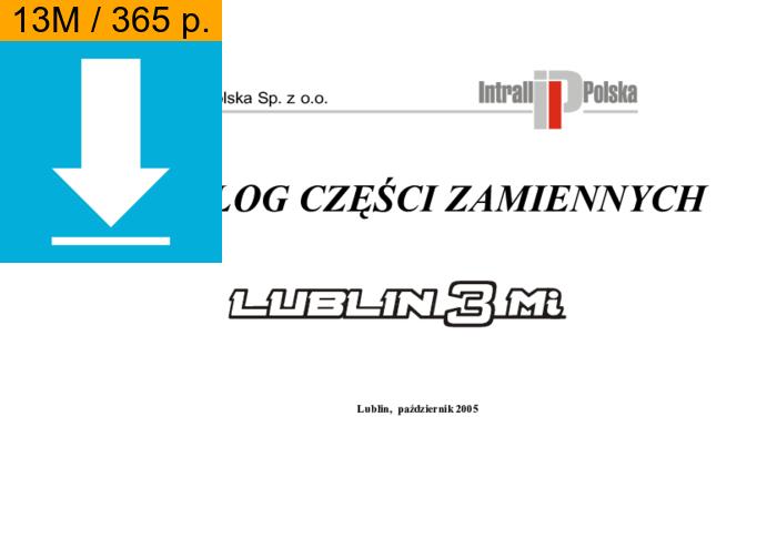Lublin 3 catalog