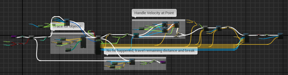 Blueprint physics code