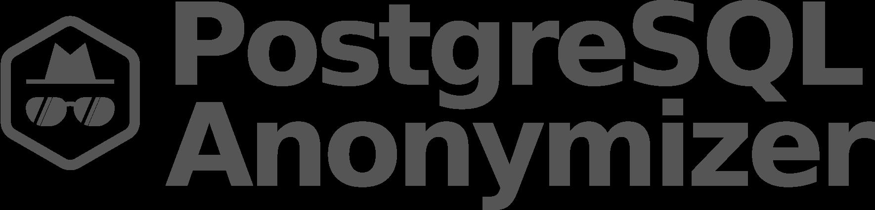 PostgreSQL Anonymizer
