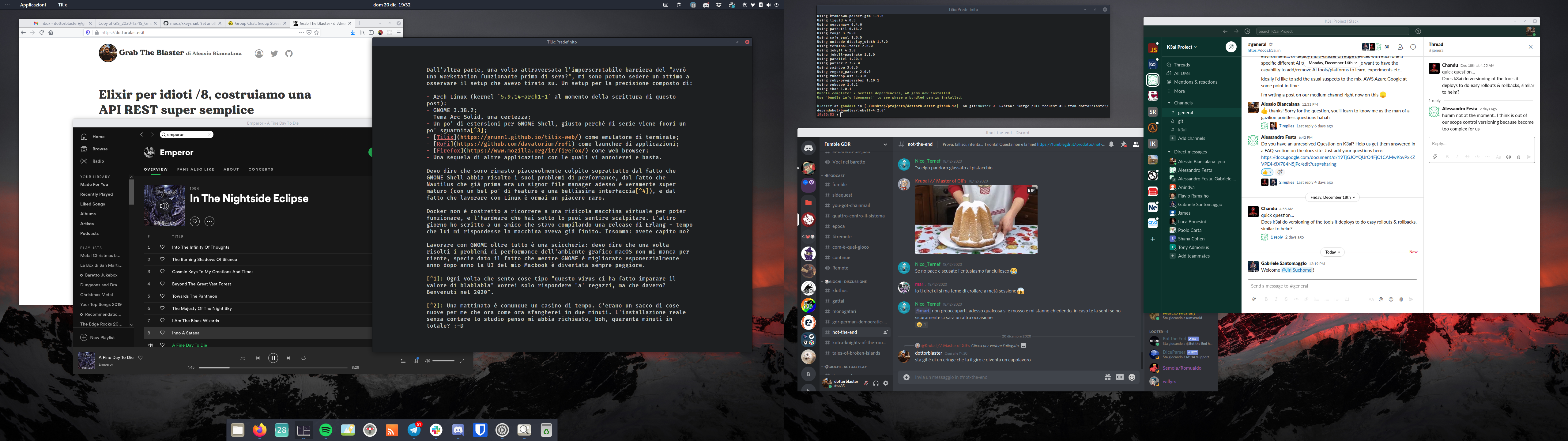 GNOME Shell in dual monitor