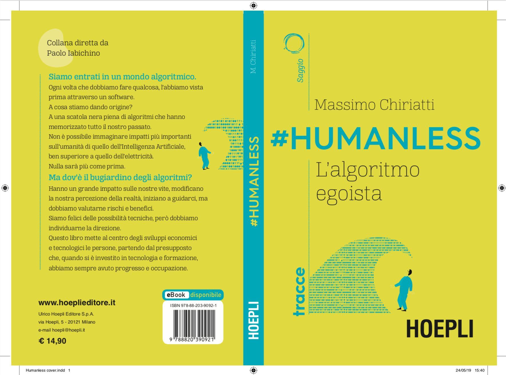 Humanless, di Massimo Chiriatti
