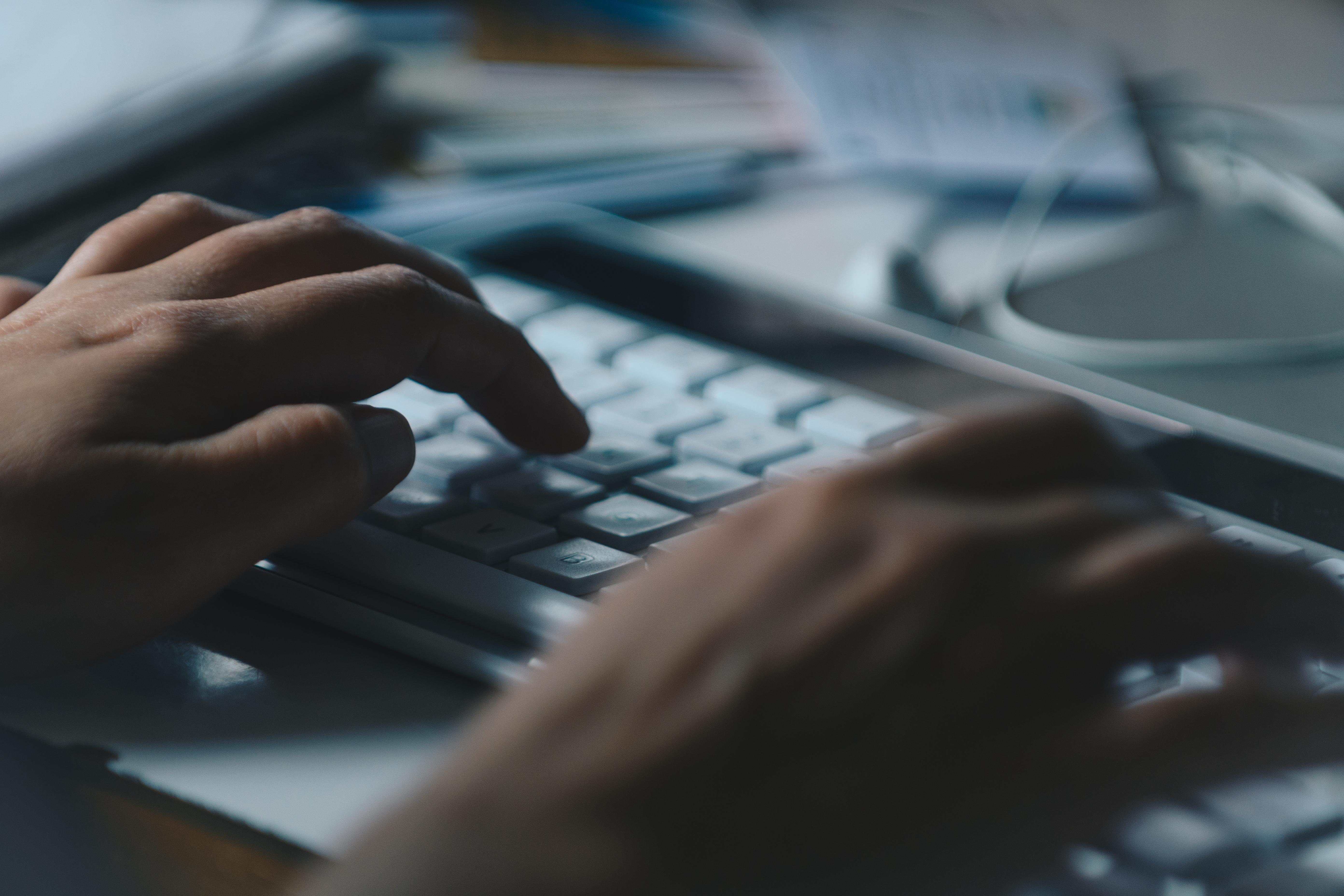 Writing using keyboard