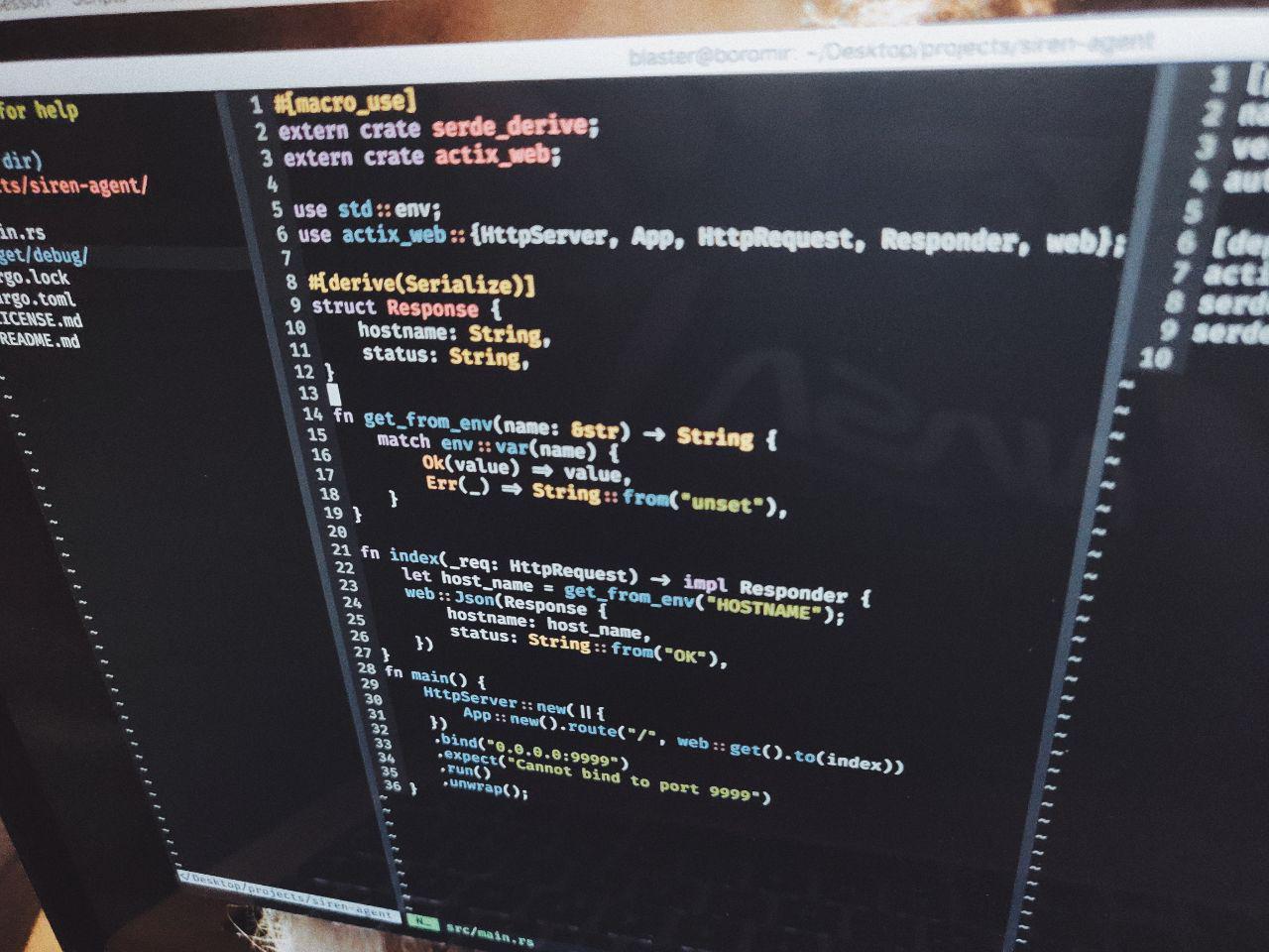 Siren Rust code