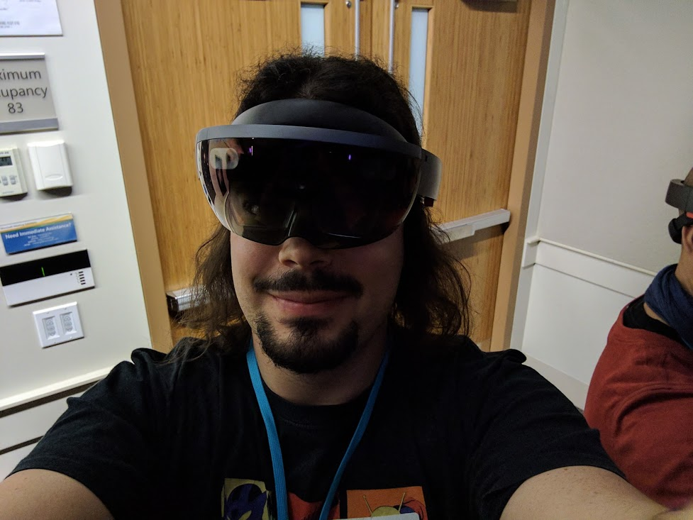 Me and my Hololens kit