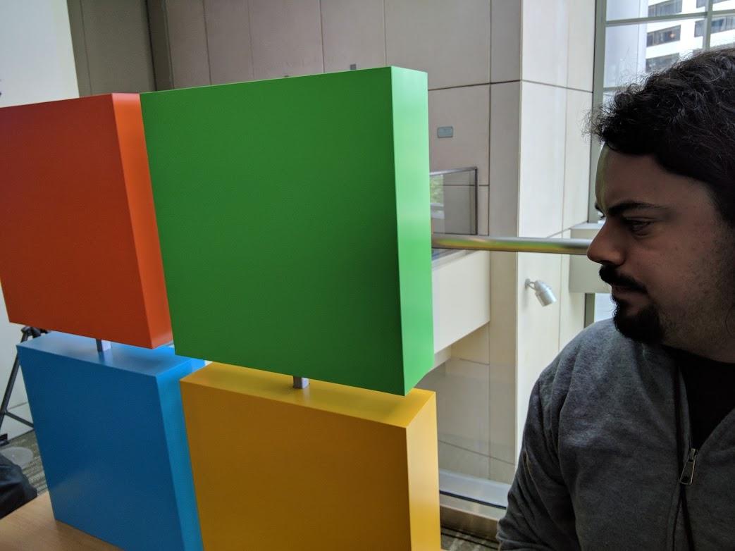 Microsoft perplexed face