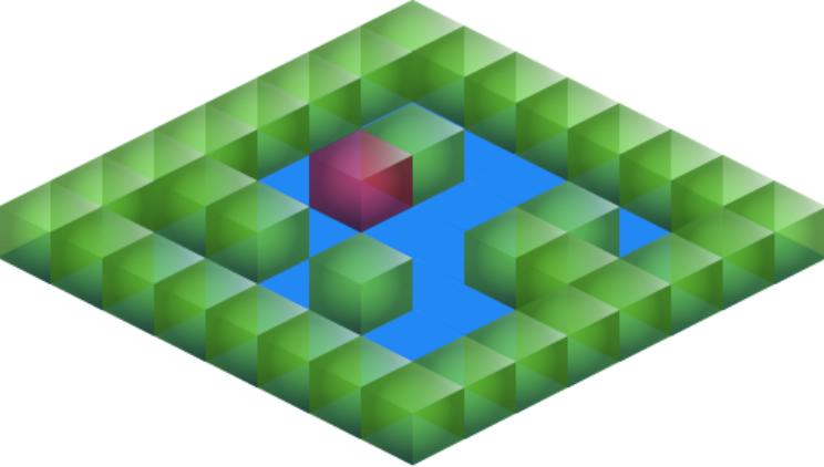 Isometric map