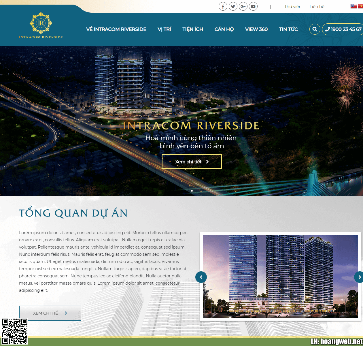 Web bất động sản - Landing Page thumbnail