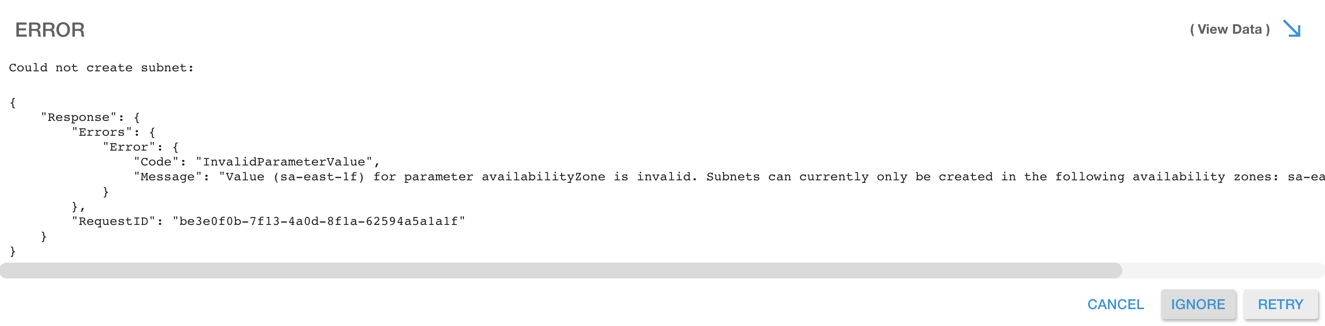 subnets-error