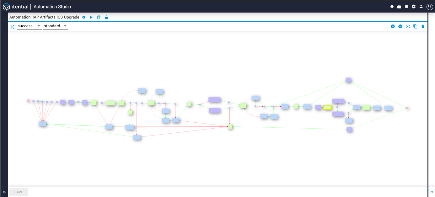 IOS Upgrade Workflow