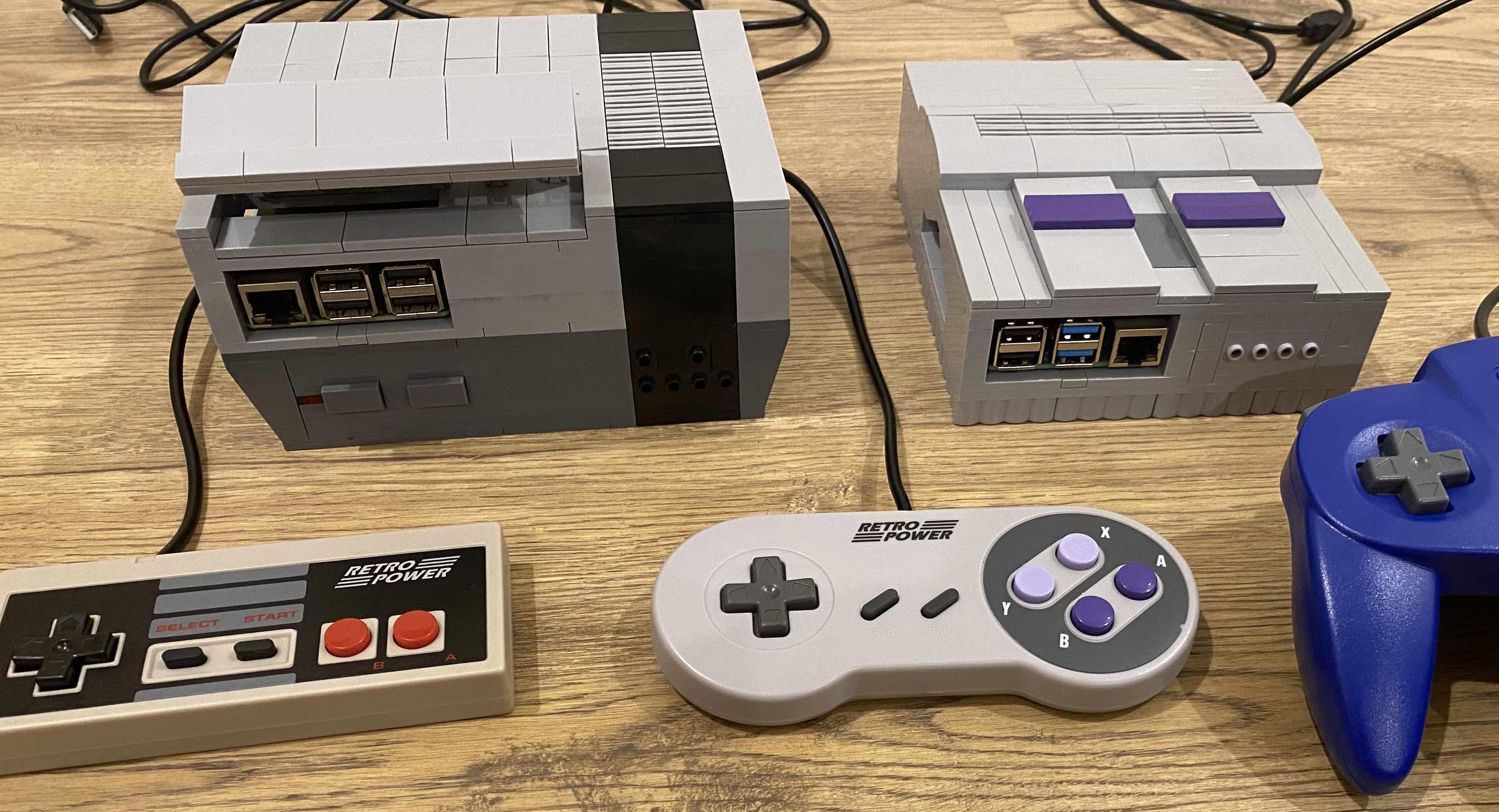 LEGO NES and SNES