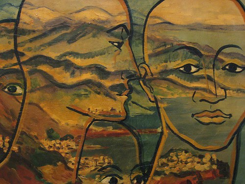 Francis Picabia - Transparence (Tetes Paysage) (1928)