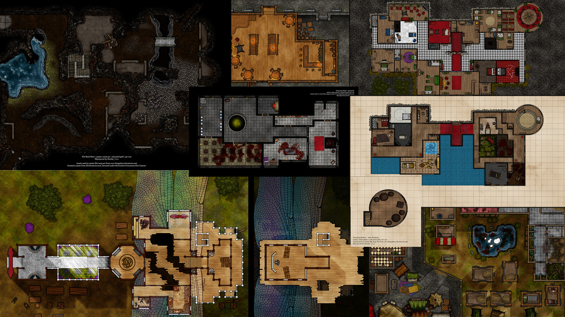 Preview of Book 1 maps
