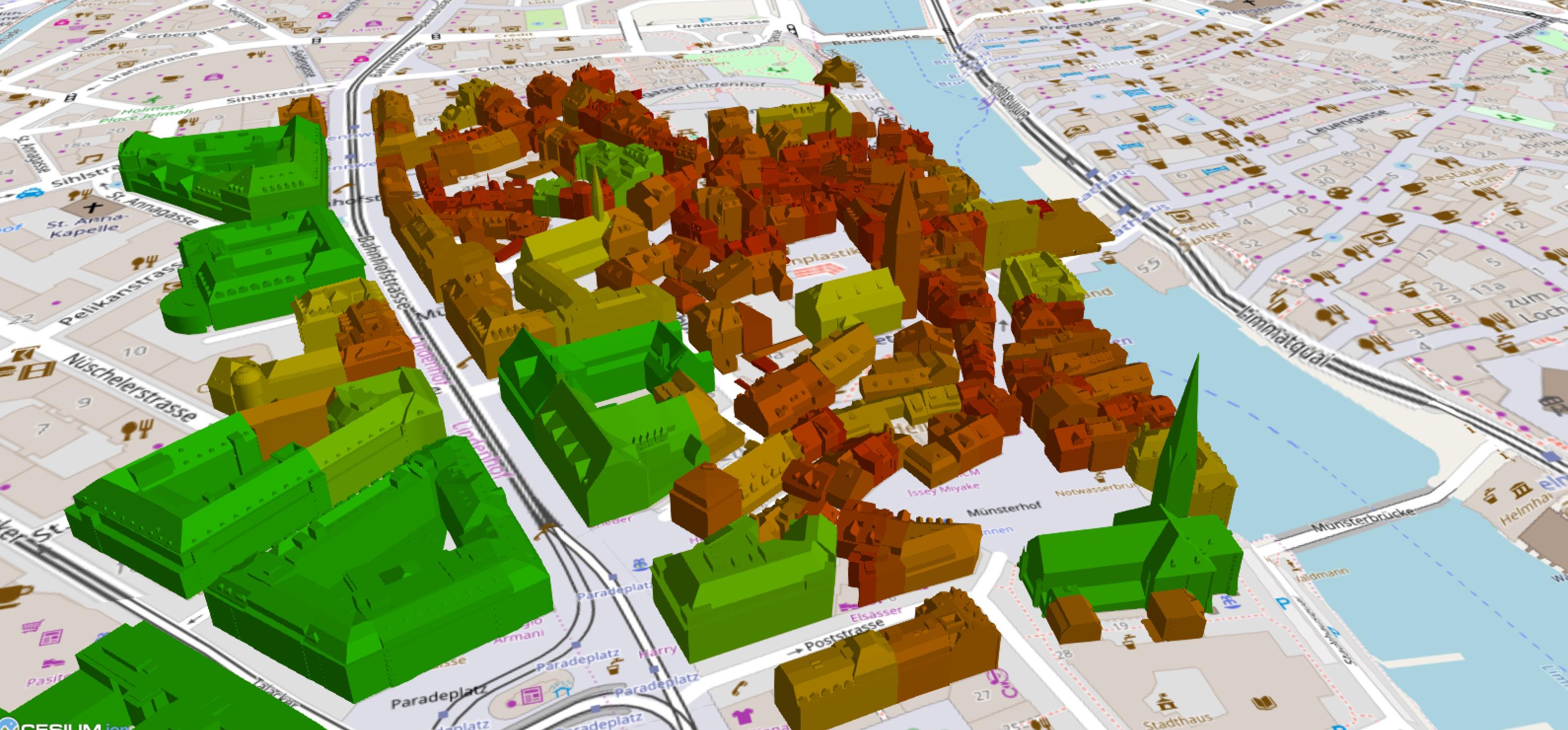 «CityGML-to-3DTiles»-Converter