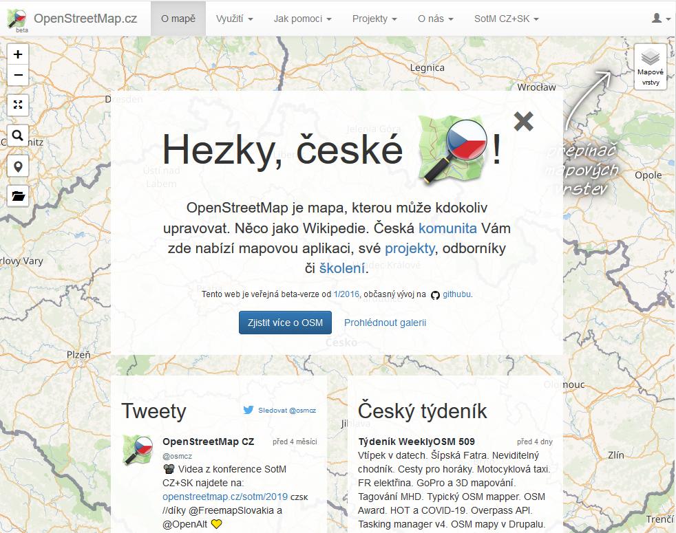 Czech website