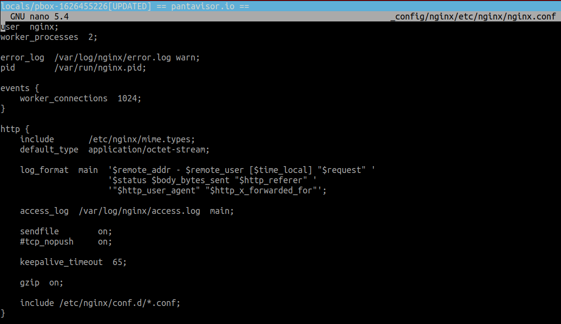 nginx.conf file content