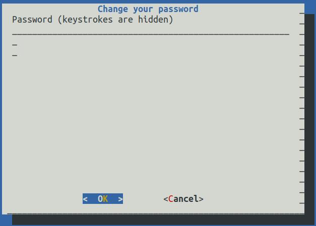 UI asking for password