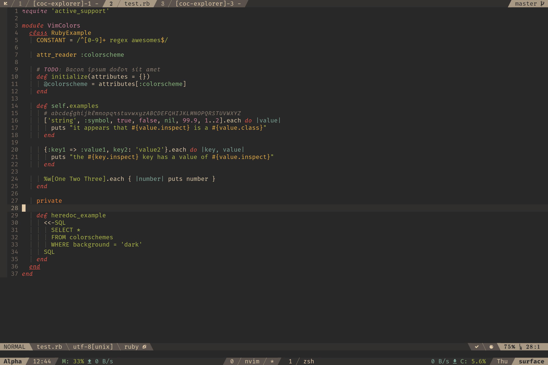 Fira Code iCursive Op