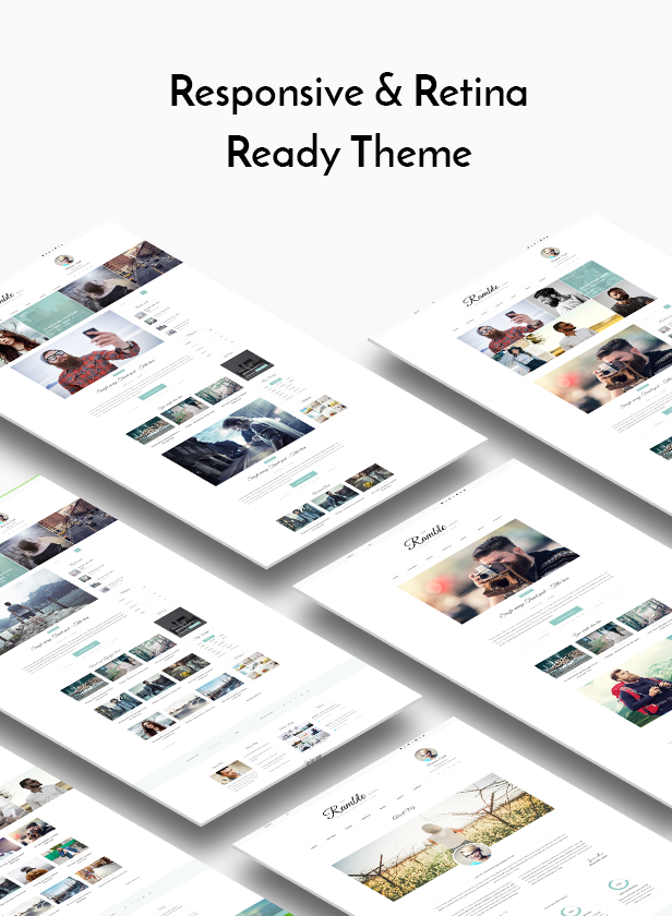 Ramble - Multi-purpose Blog, Magazine And Woo-Commerce WordPress Theme - 3