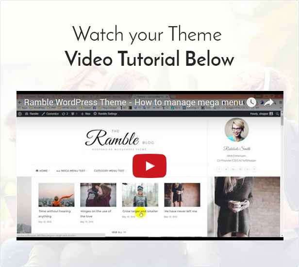Ramble - Multi-purpose Blog, Magazine And Woo-Commerce WordPress Theme - 7