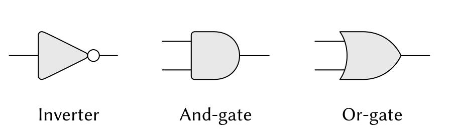 三种基本元件的符号表示